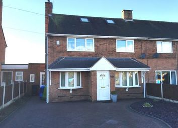 Thumbnail 3 bed semi-detached house for sale in Giggetty Lane, Wombourne, Wolverhampton, Staffordshire