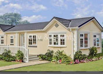 Thumbnail 2 bed mobile/park home for sale in Short Drove, Downham Market