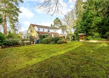 Thumbnail 4 bed detached house for sale in Macdonald Road, Lightwater, Surrey