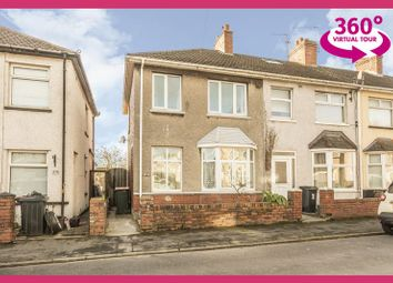 Thumbnail 2 bedroom end terrace house for sale in Conway Road, Newport