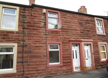 Thumbnail 2 bed terraced house to rent in Cranbourn Street, Workington, Cumbria