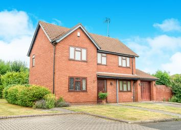 Thumbnail 4 bed detached house for sale in Eldersfield Close, Church Hill North, Redditch