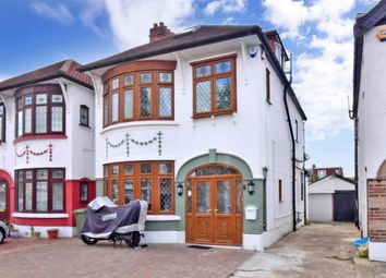 Thumbnail 4 bed semi-detached house for sale in Longwood Gardens, Ilford, Essex