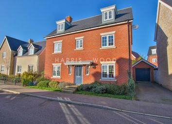 Thumbnail 5 bed detached house for sale in Axial Drive, Colchester