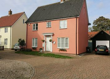 Thumbnail 3 bedroom detached house for sale in Crown Close, Dickleburgh, Diss