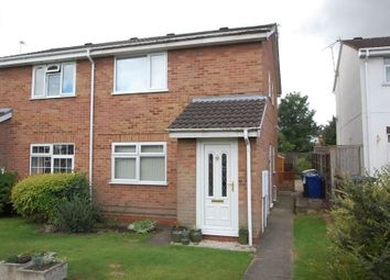 Thumbnail 1 bed flat to rent in High Grove Close, Stretton, Burton Upon Trent, Staffordshire