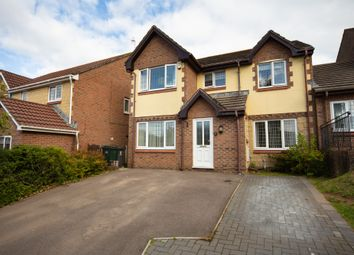 Thumbnail 4 bedroom detached house for sale in Cowslip Close, Pontprennau, Cardiff