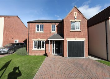 Thumbnail 4 bed detached house for sale in Scaife Close, Cottingham
