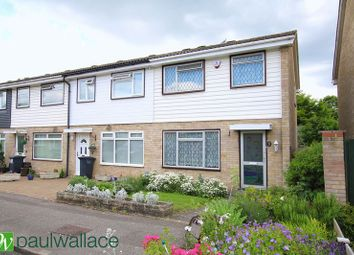 Thumbnail 3 bed end terrace house for sale in Smarts Green, Cheshunt, Waltham Cross