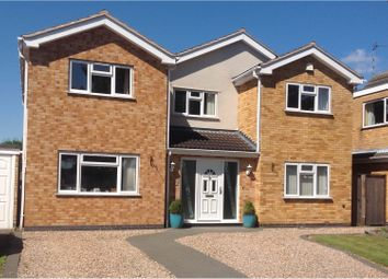 Thumbnail 5 bed detached house for sale in Maidwell Close, Wigston