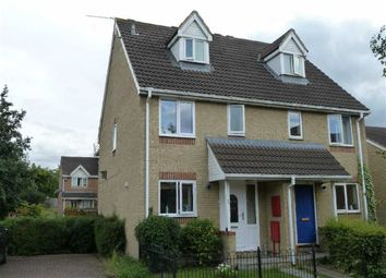 Thumbnail 3 bedroom semi-detached house to rent in Barnum Court, Swindon, Wilshire