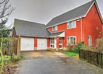 Thumbnail 4 bed detached house for sale in Guscott Close, Lowestoft