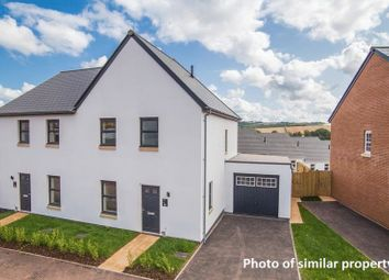 Thumbnail 3 bed semi-detached house for sale in Tarka Way, Crediton