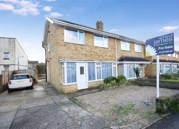 Thumbnail 3 bed semi-detached house for sale in Malvern Road, Gorse Hill, Swindon