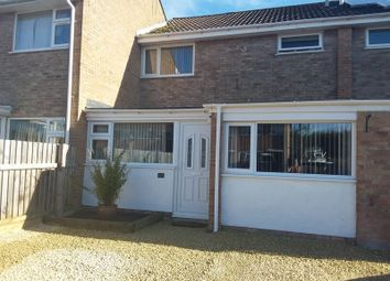 Thumbnail 3 bed terraced house for sale in Finch Close, Worle, Weston-Super-Mare