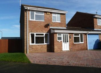 Thumbnail 3 bed detached house to rent in Hare Close, Buckingham