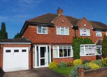 Thumbnail 3 bed semi-detached house for sale in Rectory Park Avenue, Sutton Coldfield, West Midlands