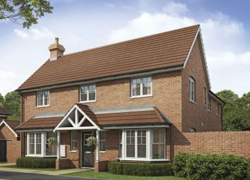Thumbnail 4 bed detached house for sale in Saxon Heights, Augusta Park, Andover