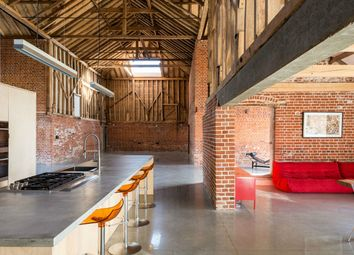 Thumbnail 5 bedroom barn conversion for sale in Assington, Suffolk