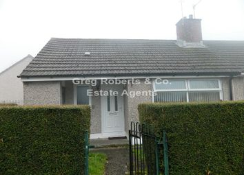 Thumbnail 1 bed bungalow for sale in Glan-Y-Nant, Rhymney, Caerphilly County.