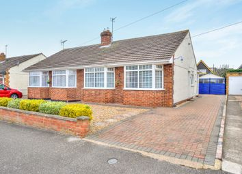 Thumbnail 2 bed semi-detached bungalow for sale in Linford Avenue, Newport Pagnell