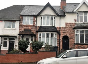 Thumbnail 3 bed terraced house for sale in Grafton Rd, Handsworth