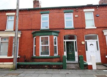 Thumbnail 3 bedroom terraced house for sale in Newborough Avenue, Mossley Hill, Liverpool, Merseyside