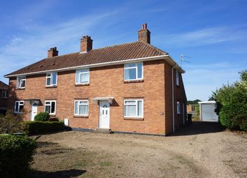 Thumbnail 3 bed semi-detached house for sale in Sun Road, Broome, Bungay