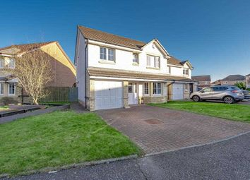 Thumbnail 4 bed detached house for sale in Crozier Crescent, Larbert