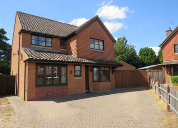 Thumbnail 4 bed detached house to rent in Cromwell Close, Swaffham