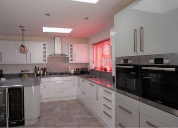 Thumbnail 4 bed detached house for sale in Church Road, Windlesham