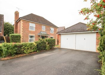 Thumbnail 4 bed detached house for sale in Brandon Road, Church Crookham, Fleet, Hampshire