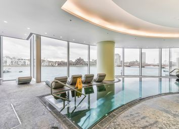 Thumbnail 2 bed flat for sale in St. George Wharf, London