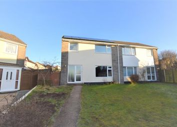 Thumbnail 3 bed semi-detached house to rent in Longfield Close, Callington, Cornwall