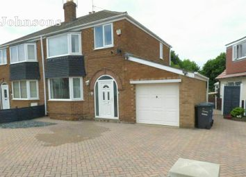Thumbnail 3 bed semi-detached house for sale in Coningsburgh Road, Edenthorpe, Doncaster.