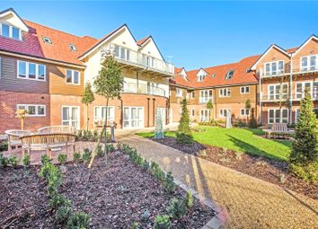 Thumbnail 1 bed flat for sale in Keble Court, Redfields Lane, Church Crookham, Fleet