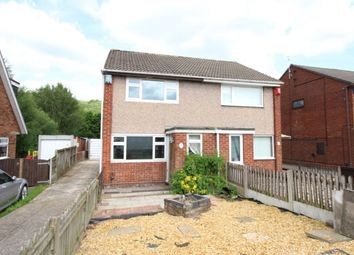 Thumbnail 2 bed semi-detached house for sale in Catharine Road, Chell Heath, Stoke-On-Trent