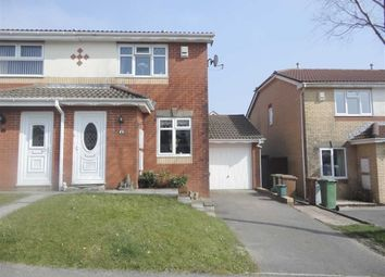 Thumbnail 2 bed semi-detached house for sale in Badham Close, Caerphilly