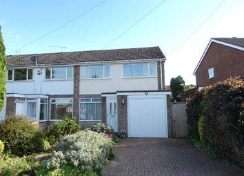 Thumbnail 3 bed end terrace house for sale in Lowlands Avenue, Streetly, Sutton Coldfield