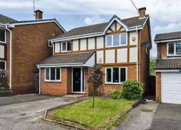 Thumbnail 4 bed detached house for sale in St. Andrew Close, Rawnsley, Cannock