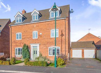 Thumbnail 5 bedroom detached house for sale in Shore View, Hampton Hargate, Peterborough