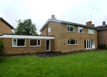 Thumbnail 4 bed detached house to rent in Gough Way, Cambridge