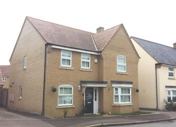 Thumbnail 4 bed property to rent in Lannesbury Crescent, St. Neots