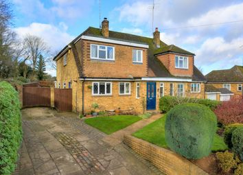Thumbnail 4 bed semi-detached house for sale in Crabtree Lane, Harpenden