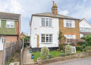 3 bed semi-detached house for sale in Pleasant Place, Hersham Village, Surrey KT12