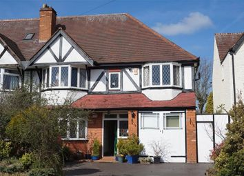 Thumbnail 5 bedroom semi-detached house for sale in Station Road, Wylde Green, Sutton Coldfield
