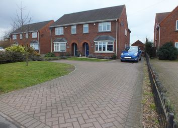 Thumbnail 4 bed semi-detached house for sale in Stoke Road, Wereham, King's Lynn