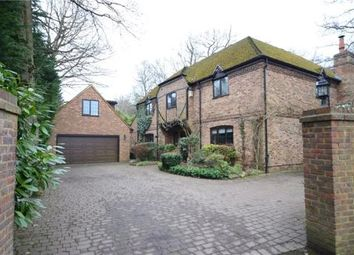 Thumbnail 4 bed detached house for sale in Roundabout Lane, Winnersh, Wokingham
