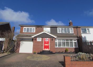 Thumbnail 4 bed semi-detached house for sale in Sheldon Grove, Gosforth, Newcastle Upon Tyne