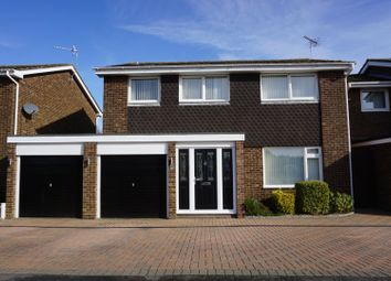 Thumbnail 4 bed detached house for sale in Claverton Way, Ipswich